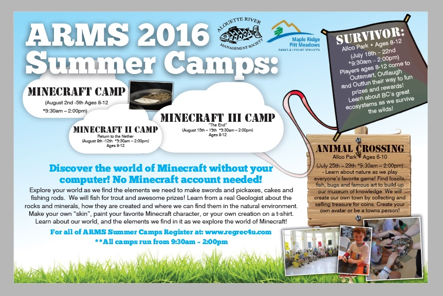 Summer 2016 Camp Ad
